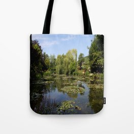 Monets Waterlily Pond Tote Bag