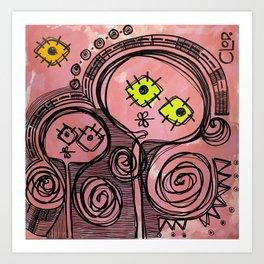 YO & TU Art Print