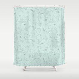 Mistletoe Charm pattern 4 Shower Curtain