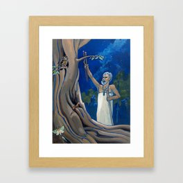 Night Rituals Framed Art Print