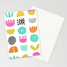 SIMPLE GEOMETRIC 001 Stationery Cards