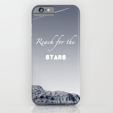 Reach for the Stars (b&w)  Slim Case iPhone 6s