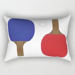 Ping Pong Rackets Rectangular Pillow