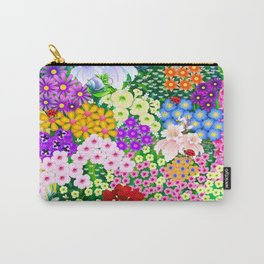 Flower Garden and Bugs Carry-All Pouch