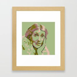 Virginia Woolf Framed Art Print