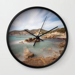 Camp de Mar Wall Clock