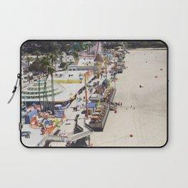 Santa Cruz Boardwalks Aerial View Laptop Sleeve