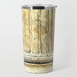 Columns of the Sacred Temple Travel Mug