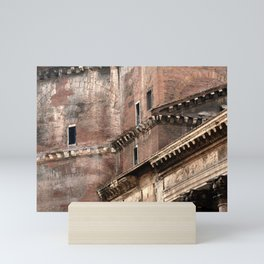 Pantheon of Rome Side View Mini Art Print