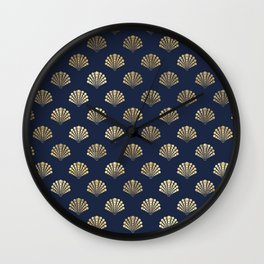 Elegant and Beautiful Seashell Pattern Wall Clock