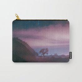 dreamy Joshua Tree at night Carry-All Pouch