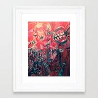 berserk Framed Art Prints featuring Berserk by Ms.Blondie320