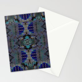 JEWELED SERPENT SKIN Stationery Cards