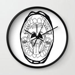toothbrush. Wall Clock