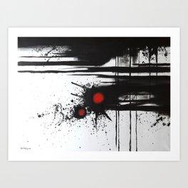 Influence Art Print