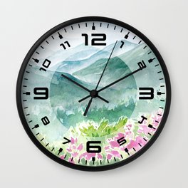 Spring Scenery #2 Wall Clock