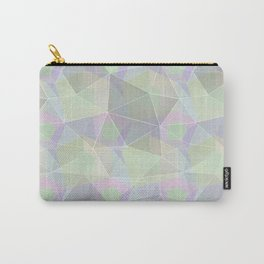 Polygonal pattern. Carry-All Pouch