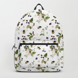 Bee Pollination Pattern Backpack