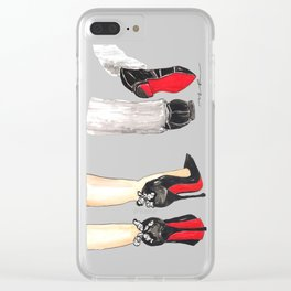 Sole Mates Clear iPhone Case