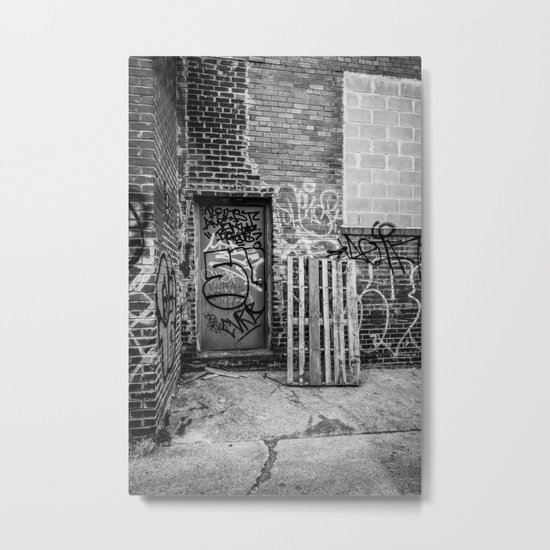 Exit to the Streets Metal Print