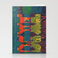 acid Stationery Cards featuring Acid by Rocovich