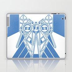Power Wolf Blue Laptop & iPad Skin