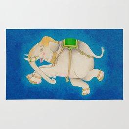 Happy Dreamtime Elephant Rug