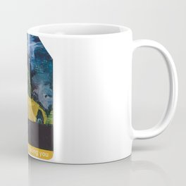Subway Card NYC Taxi Painting Coffee Mug