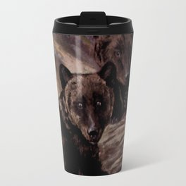Vintage Brown Bear Painting (1909) Travel Mug