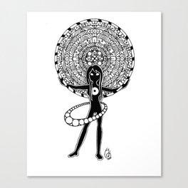 Orbiting Canvas Print