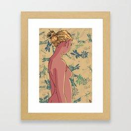 Woman #3 Framed Art Print