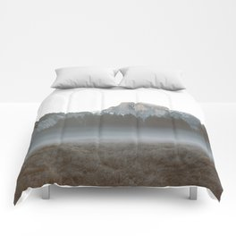 Morning Mist, Yosemite Comforters