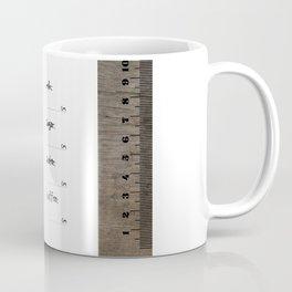 old style ruler iPhone5 + 11 oz mug Coffee Mug