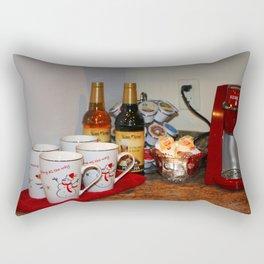 Home Coffee Bar Rectangular Pillow