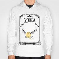 the legend of zelda Hoodies featuring Zelda legend - Navi by Art & Be