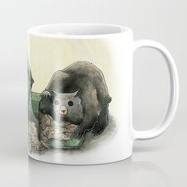 Critters Eating Garbage # 1 Coffee Mug
