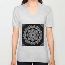 Lotus Dreams Mandala Unisex V-Neck