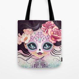 Camila Huesitos - Sugar Skull Tote Bag