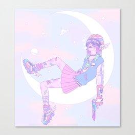 Lunar Ranger Canvas Print