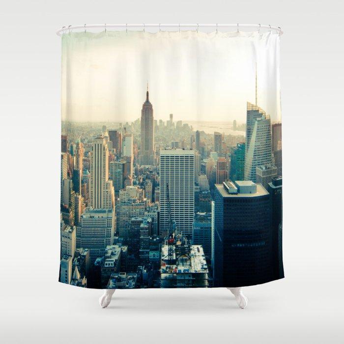 Good Evening New York City Shower Curtain