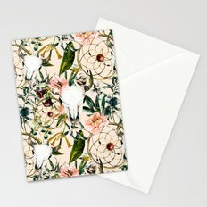 Floral bohemian pattern Stationery Cards