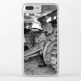 Sleeping Giants Clear iPhone Case