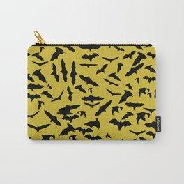 Bats Ceylon Yellow Carry-All Pouch