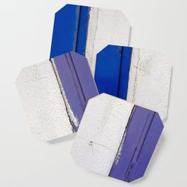 Blue White Blue Coaster