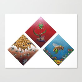 The Future of the Honey Bee Canvas Print