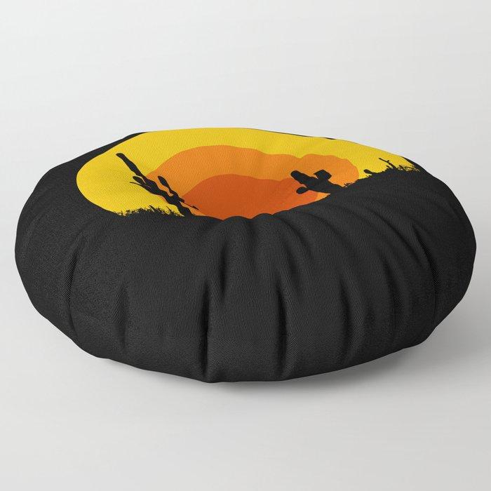 mucho calor Floor Pillow