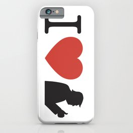 I Love Trump Logo iPhone Case