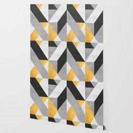 Gold Composition VIII Wallpaper
