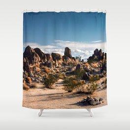 Desert Rocks Shower Curtain