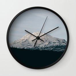 Mount Adams III Wall Clock